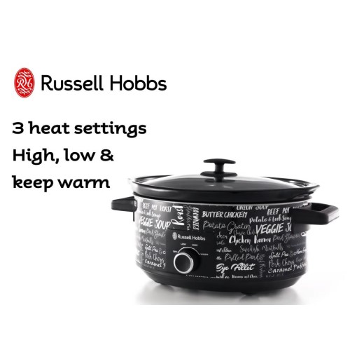 6L Inspirations Slow Cooker 360° RHSC602 - Russell H