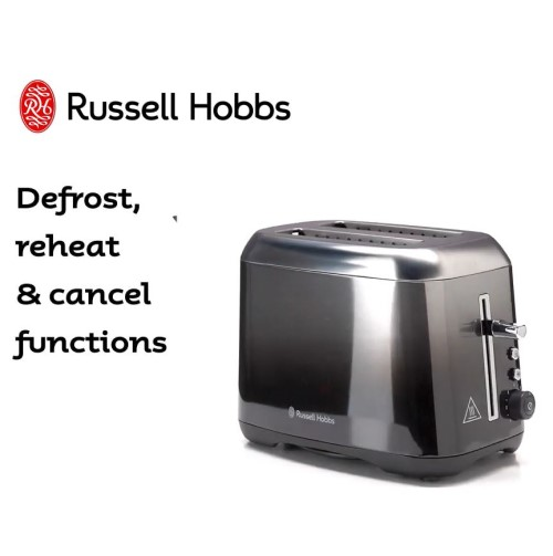Midnight Toaster 360° RHT82BKF - Russell Hobbs