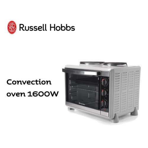 Compact Kitchen Convection Oven with Hotplates 360°