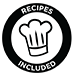 Recipes Included