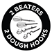 2 Beaters & 2 Dough Hooks
