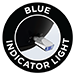 Blue Indicator Light