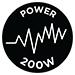 Power 200W