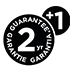 2 Year Guarantee +1