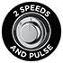 2 velocidades e função Pulse