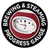 Jauge de progression du brassage et de la vapeur