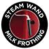 Varilla de vapor giratoria para vaporizar leche