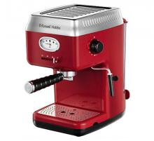 Retro Red Espresso Coffee Machine