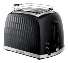 Toaster 2 fentes Honeycomb Noir