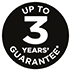 Up to 3 Years Guarantee - Register Your Product Online