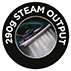290g Steam Output