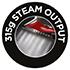 315g Steam Output