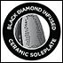 Black Diamond Infused Ceramic Soleplate