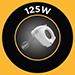 125W Power