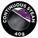 40g Continuous Steam
