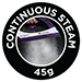 45g continuous steam