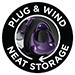 Plug & wind neat storage