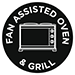 Fan Assisted Oven and Grill