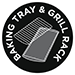 Baking Tray & Grill Rack