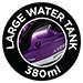 380ml water tank