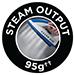 95g Steam Output
