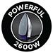 2600W