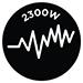 2300W