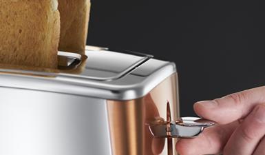 Russell Hobbs Set Luna Copper Accents Wasserkocher 24280-70 Toaster 24290-56