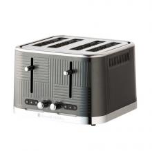 Geo Steel 4 Slice Toaster