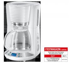 Inspire White Digitale Glas-Kaffeemaschine