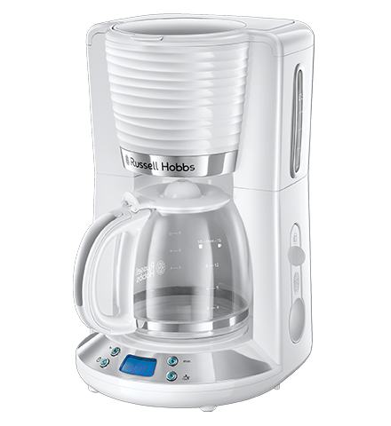 Inspire White Coffee Maker