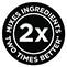 Mixuje ingrediencie 2× lepšie*