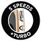 5 rýchlostí + turbo funkcia