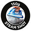 150 g steam shot