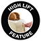 High lift feature