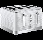 Inspire 4 Slice White Toaster