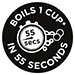 Boils 1 Cup in 55 Seconds