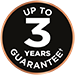 Up to 3 Years Guarantee