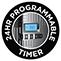 Digitales Bedienelement mit programmierbarem Timer