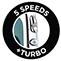 5 Geschwindigkeitsstufen + Turbofunktion