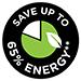 Risparmia fino al 65% di energia**